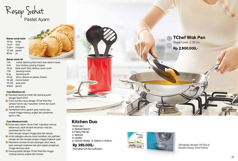 Tchef Work Pan Tupperware Promo Oktober 2017