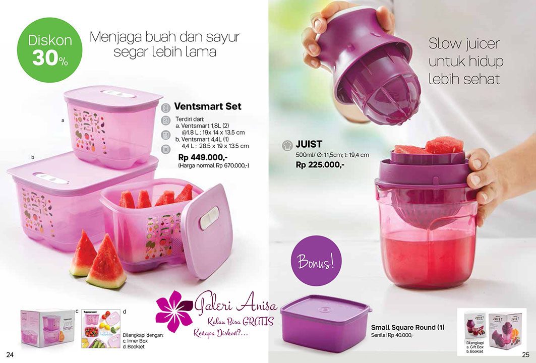 Juist Tupperware Promo September 2017