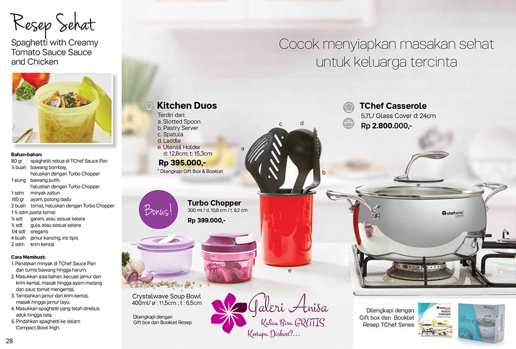 Kitchen Duo Tupperware Promo September 2017
