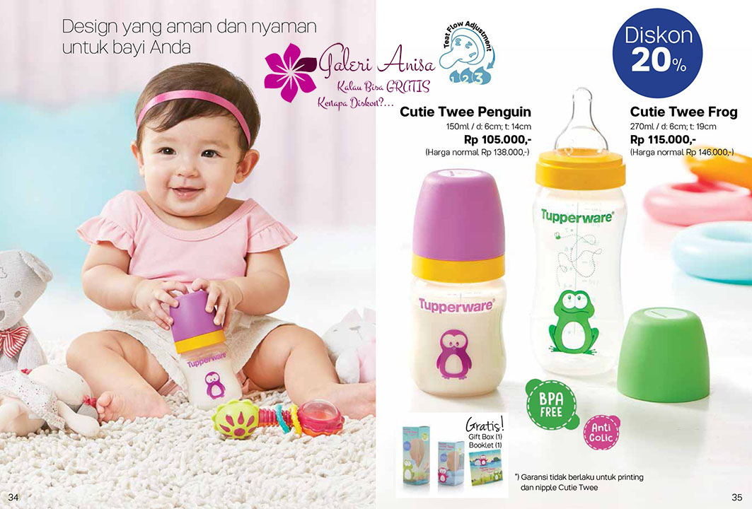 Cutie Twee Tupperware Promo September 2017