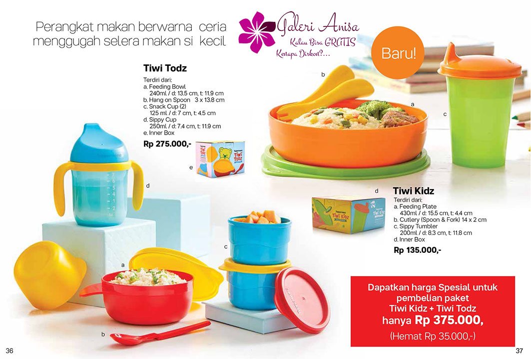 Tiwi Todz Tupperware Promo September 2017