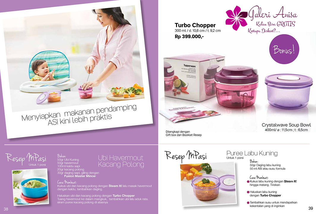 Turbo Choper Tupperware Promo September 2017