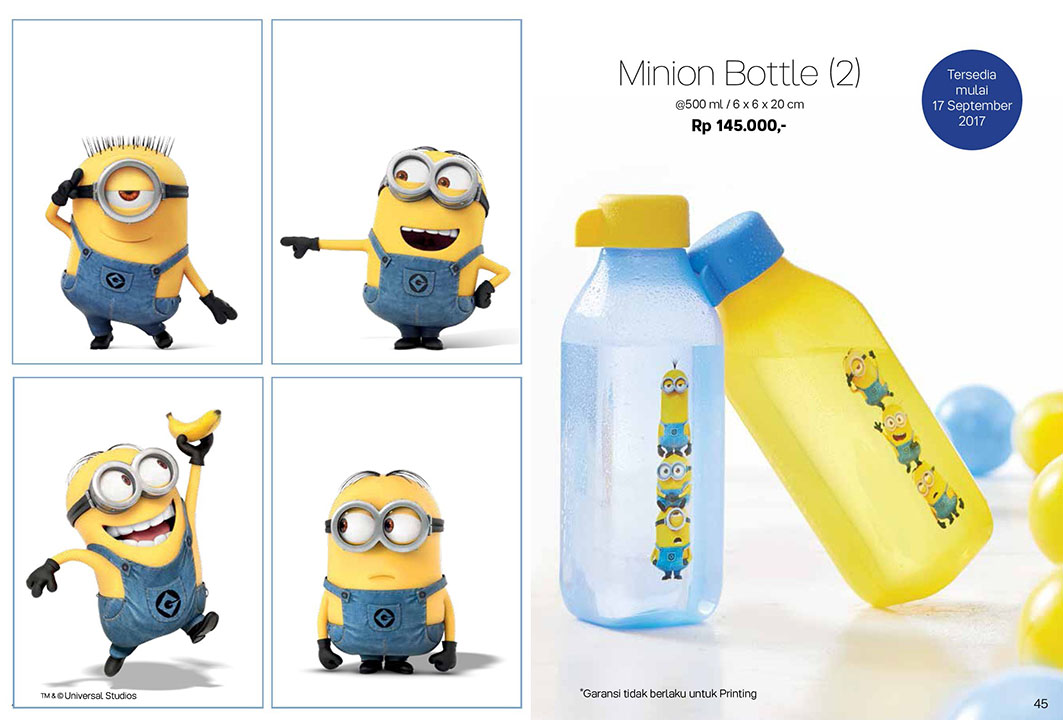 Minion Bottle Tupperware