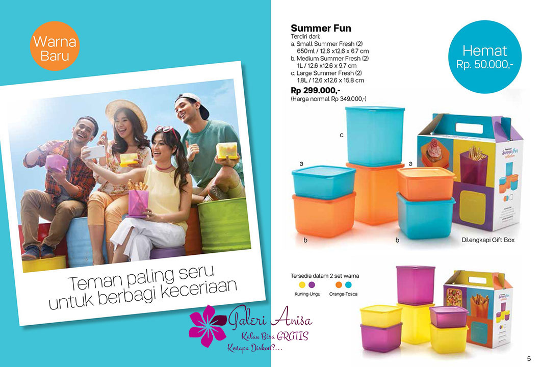 Summer Fun Tupperware Promo September 2017