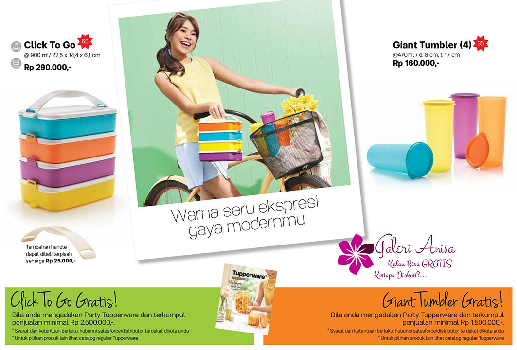 Click To Go Tupperware Promo September 2017