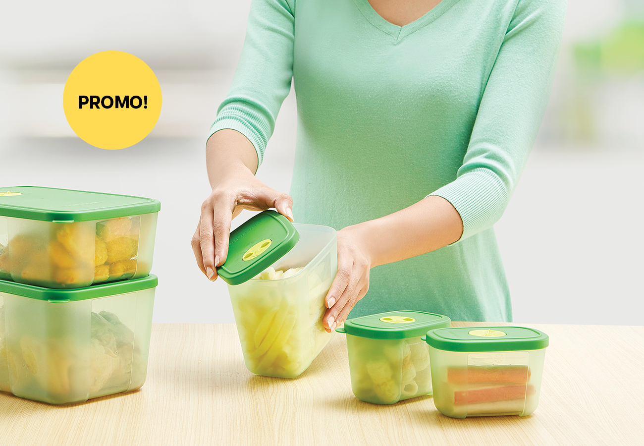 Freshmint Collection Tupperware