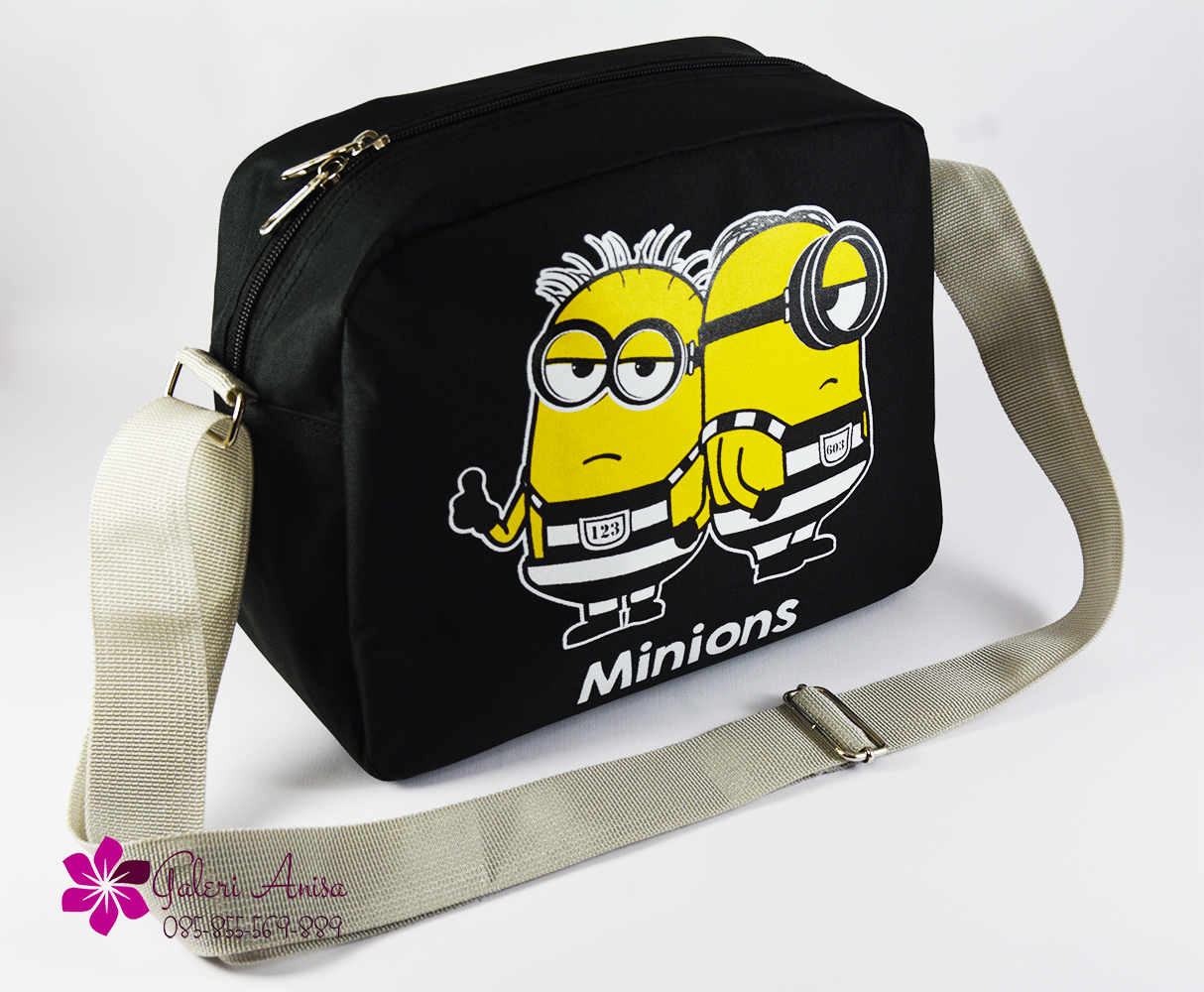 Minion bag black