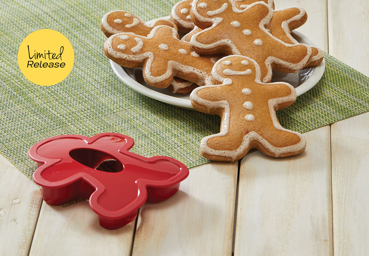 Little Man Cookie Cutter Tupperware