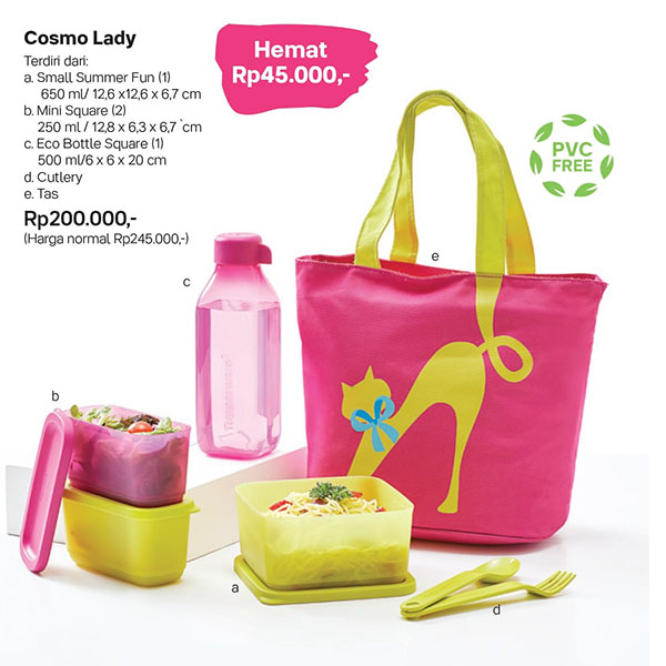 Cosmo Lady Tupperware