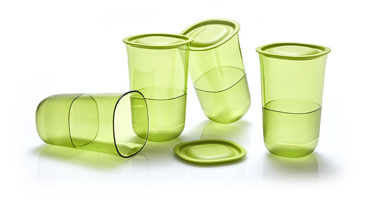 Crystalline Glass Tupperware