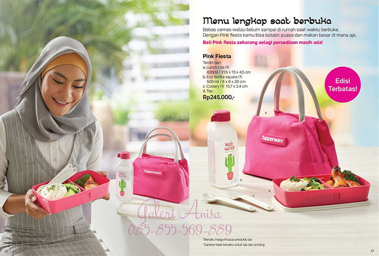 Pink Fiesta Tupperware