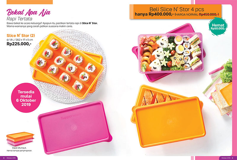 Slice N Stor Tupperware