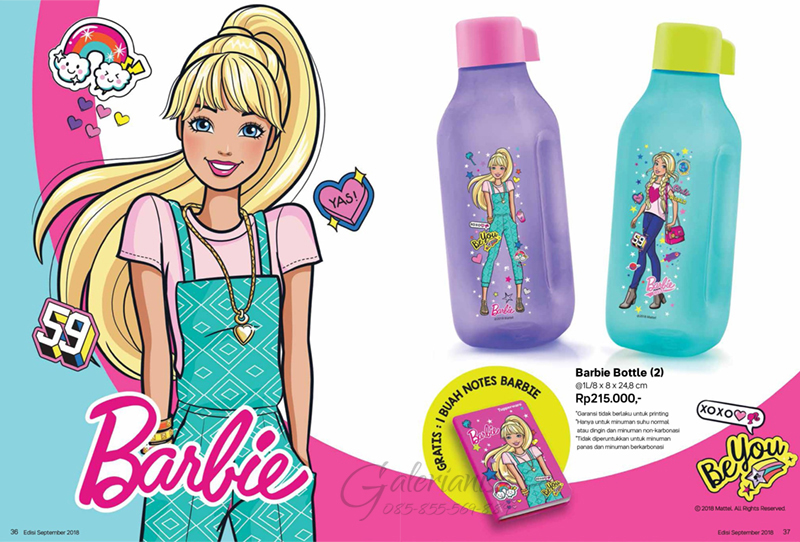 Barbie Bottle Tupperware