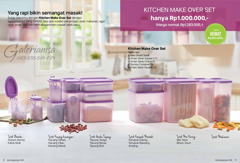 Kitchen Make Over Set Tupperware