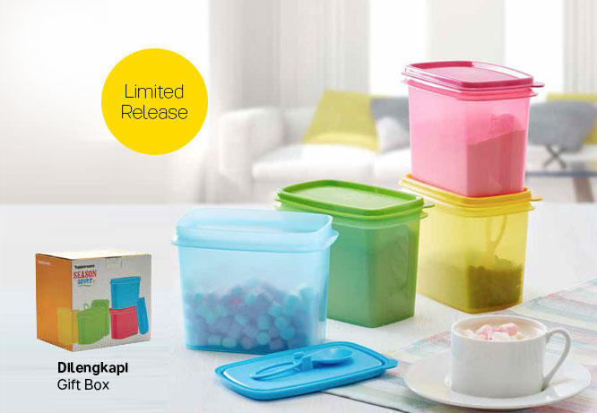 Four Season Tupperware